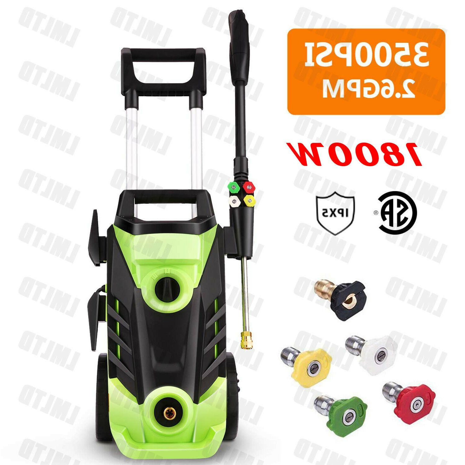 3500PSI Pressure Power Washer,2.6 GPM High Pressure