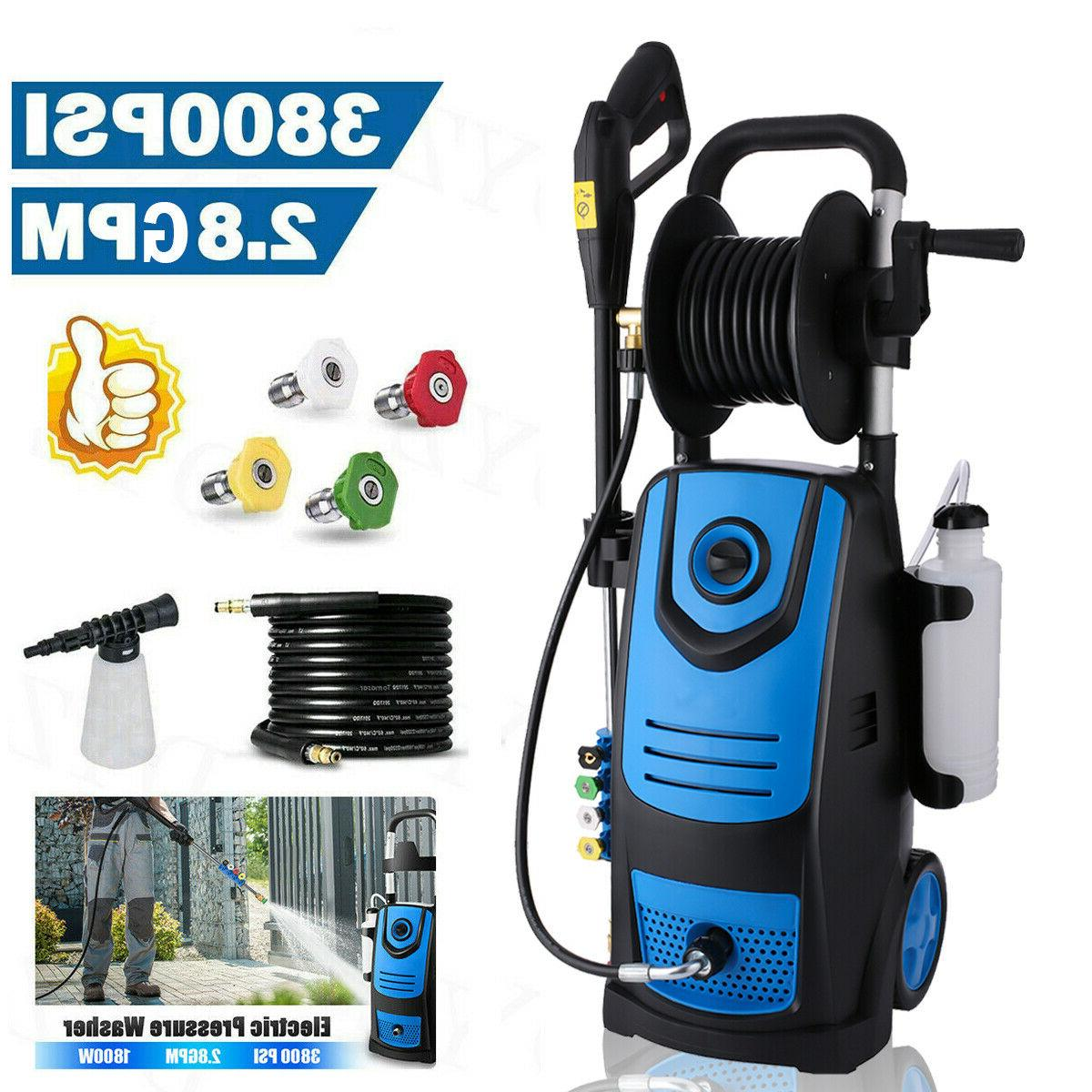 3800psi 2 8gpm electric pressure washer powerful