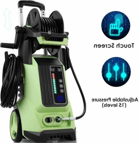 3800PSI Electric Pressure Touch-Screen Portable High Washer