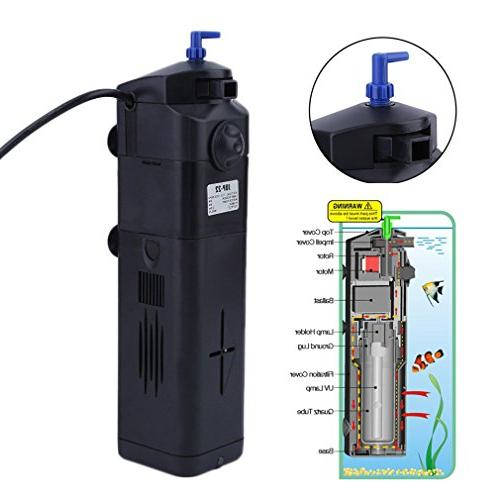 4 function aquarium water cleaner