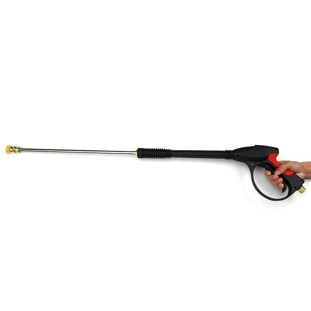 4000 PSI Car Power Washer Gun Wand Nozzle Tips Hose