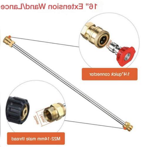 Gas/Gasoline Pressure/Power Wand/Lance & Nozzle Universal