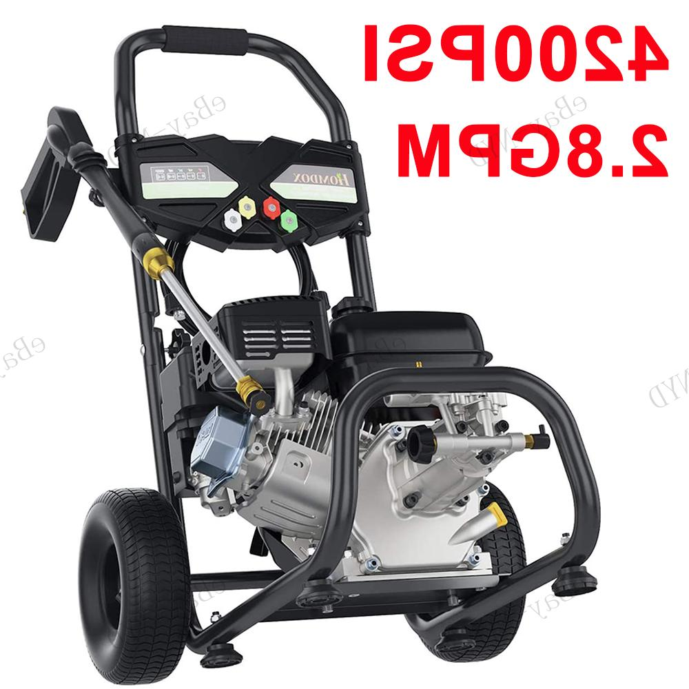 4200PSI 3GPM Gas Pressure Washer 212CC Petrol Cold Water US