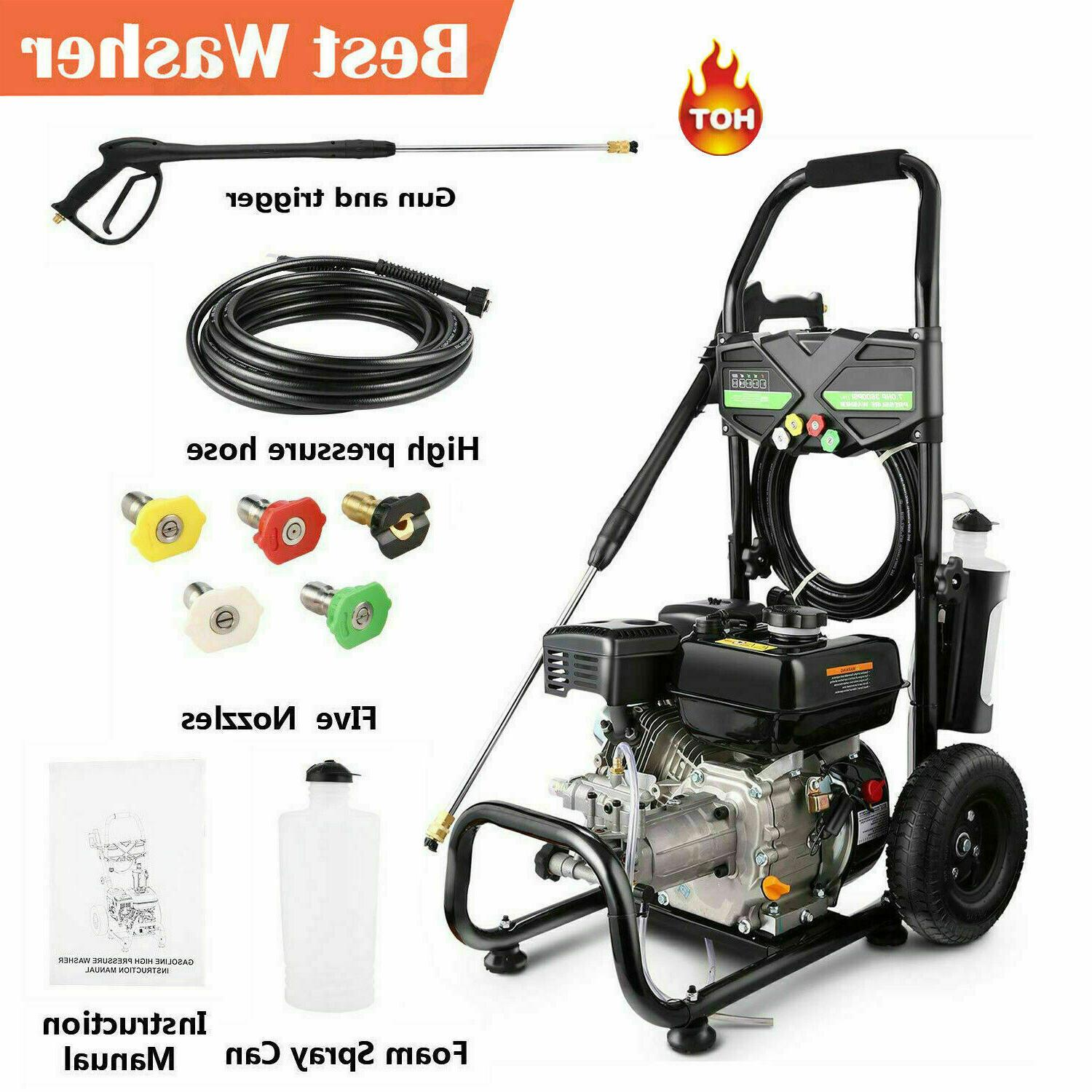 4200PSI Pressure Washer Power Petrol Cold US