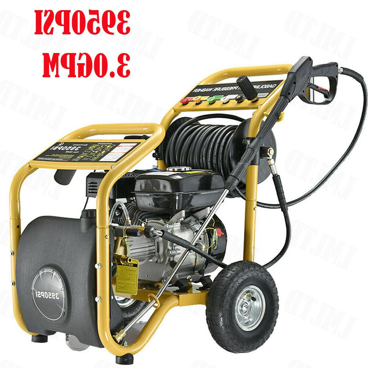 4200PSI Gas Pressure Washer Washer Petrol Powered Cold US