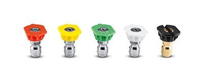 5 piece quick connect spray nozzles