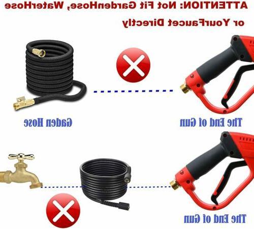 5200PSI Car Power Washer Spray Wand/Lance Nozzle Tips Kit