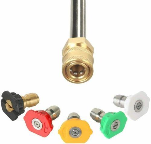 5200PSI High Pressure Power Washer Wand/Lance Kit