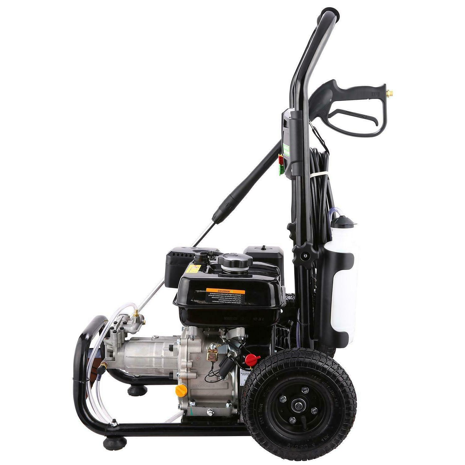 7HP Powered Pressure Washer Multi Pattern 3600 2.8GPM