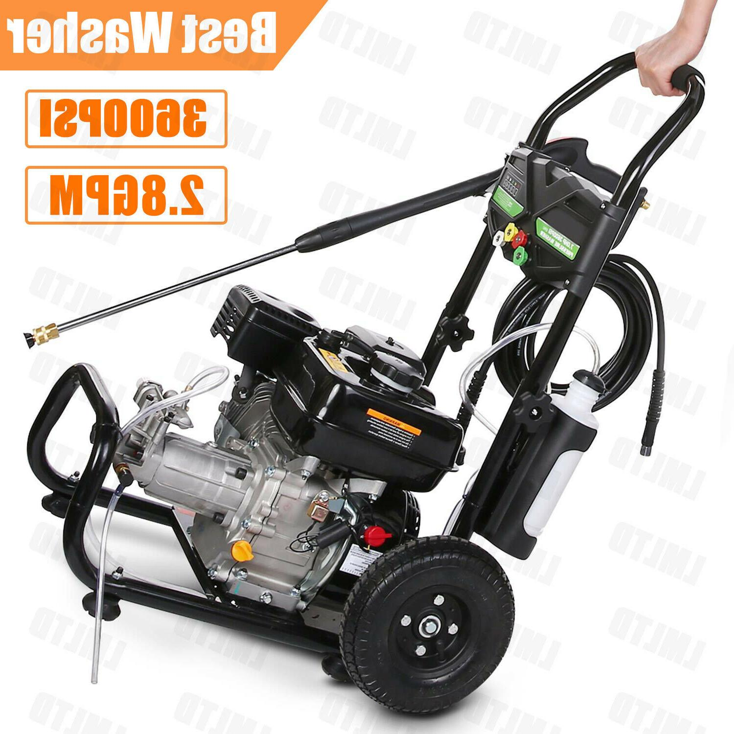 4200PSI 3GPM Washer Washer Petrol Powered Water US