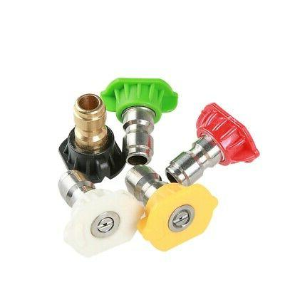 1/7Pc Power Pressure 5000PSI Pivoting Kit