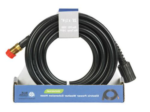 """AR Blue Clean 25 ft Electric' Pressure Washer 1/4"""" ID Extens"""