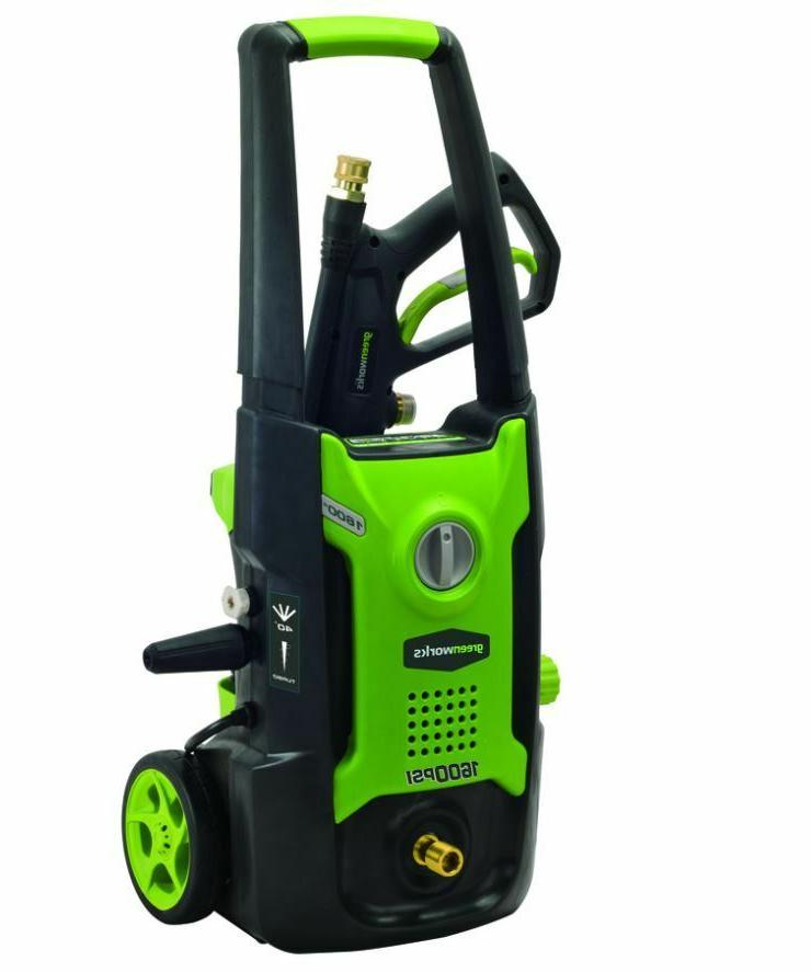Greenworks 1,600-PSI 1.2-GPM Cold Water Electric Pressure Wa
