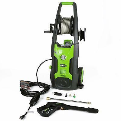 Greenworks 5100302 13 Amp 1,950 PSI 1.2 GPM Electric Vertica