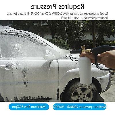 High Pressure Gun Water Wand Brass 3000 PSI Car