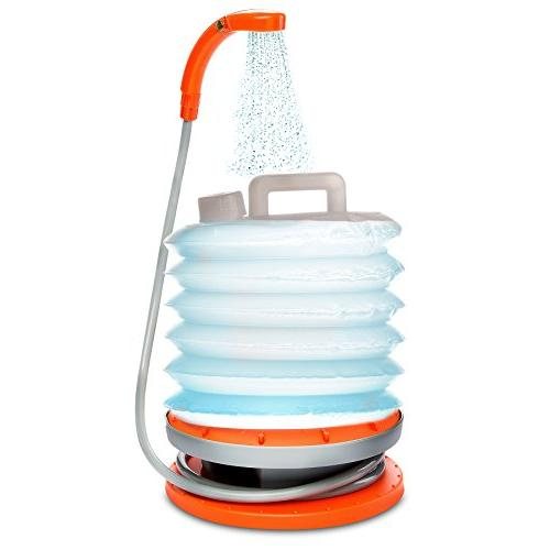 Ivation Portable Outdoor Shower System w/Handheld Showerhead
