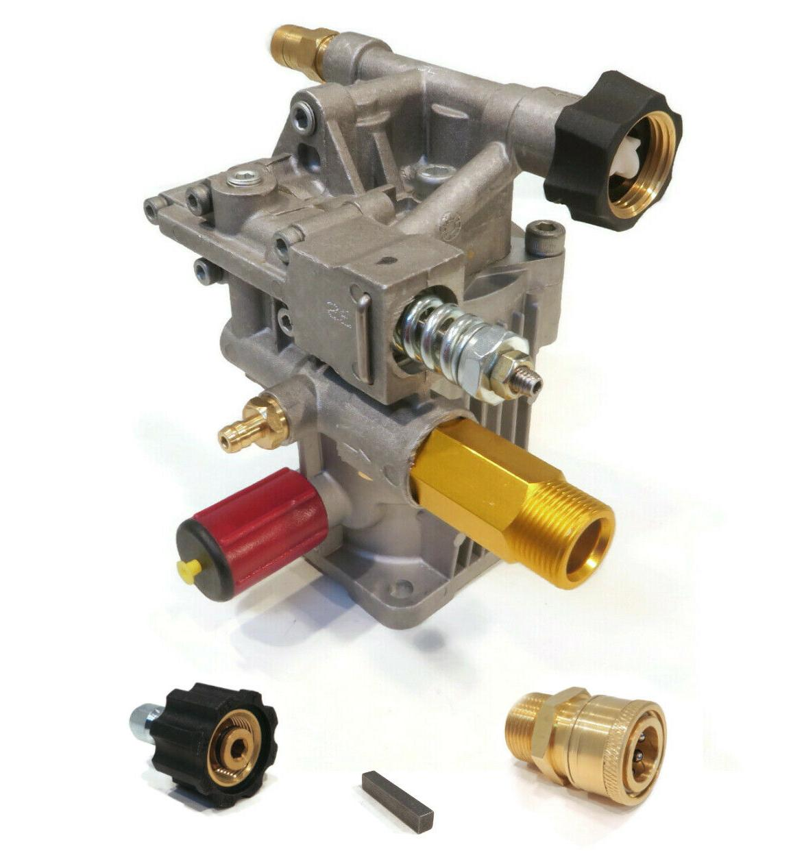 PRESSURE WASHER PUMP & Quick Connect fits Karcher Power Wash