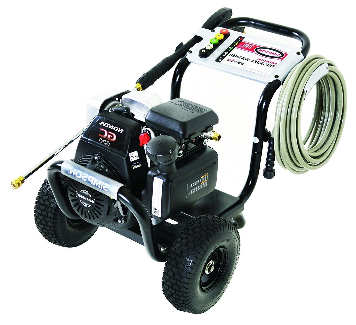 Simpson 2.5 GPM Gas Pressure Washer Cleaner Machine Power by