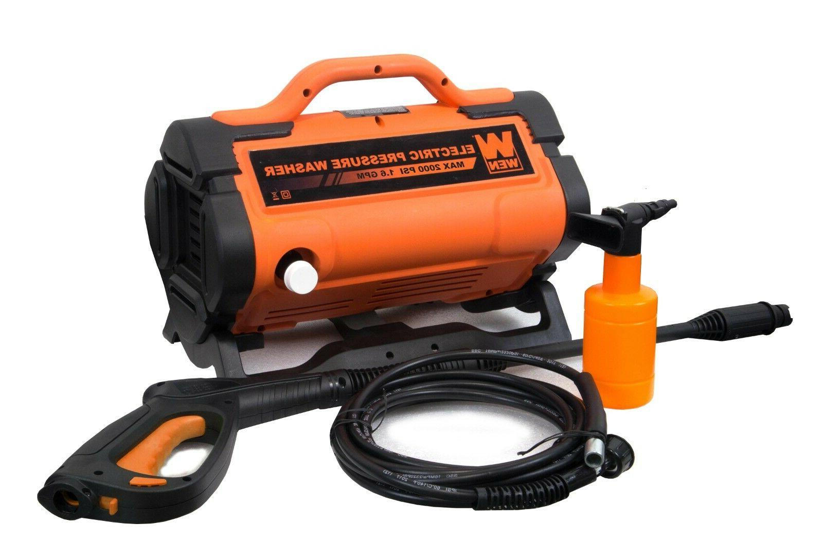 WEN PW19 2000 PSI 1.6 GPM 13-Amp Variable Flow Electric Pres