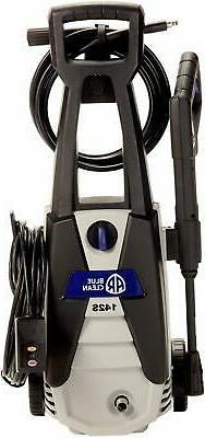 AR Blue Clean AR142S 1,500 PSI Electric Pressure Washer, Noz