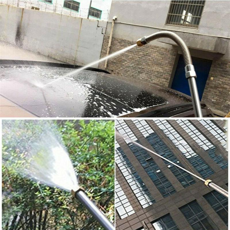 Car Garden High Power Washer Nozzle Water Hose Attachment