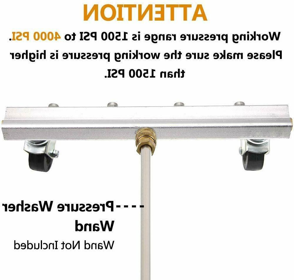 """Commercial Pressure Water Broom Deck 13"""""""