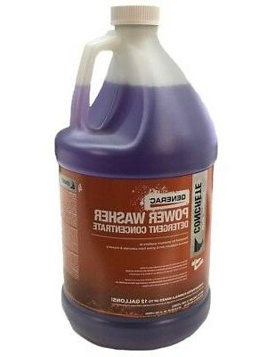 concrete power washer detergent concentrate 1 gallon