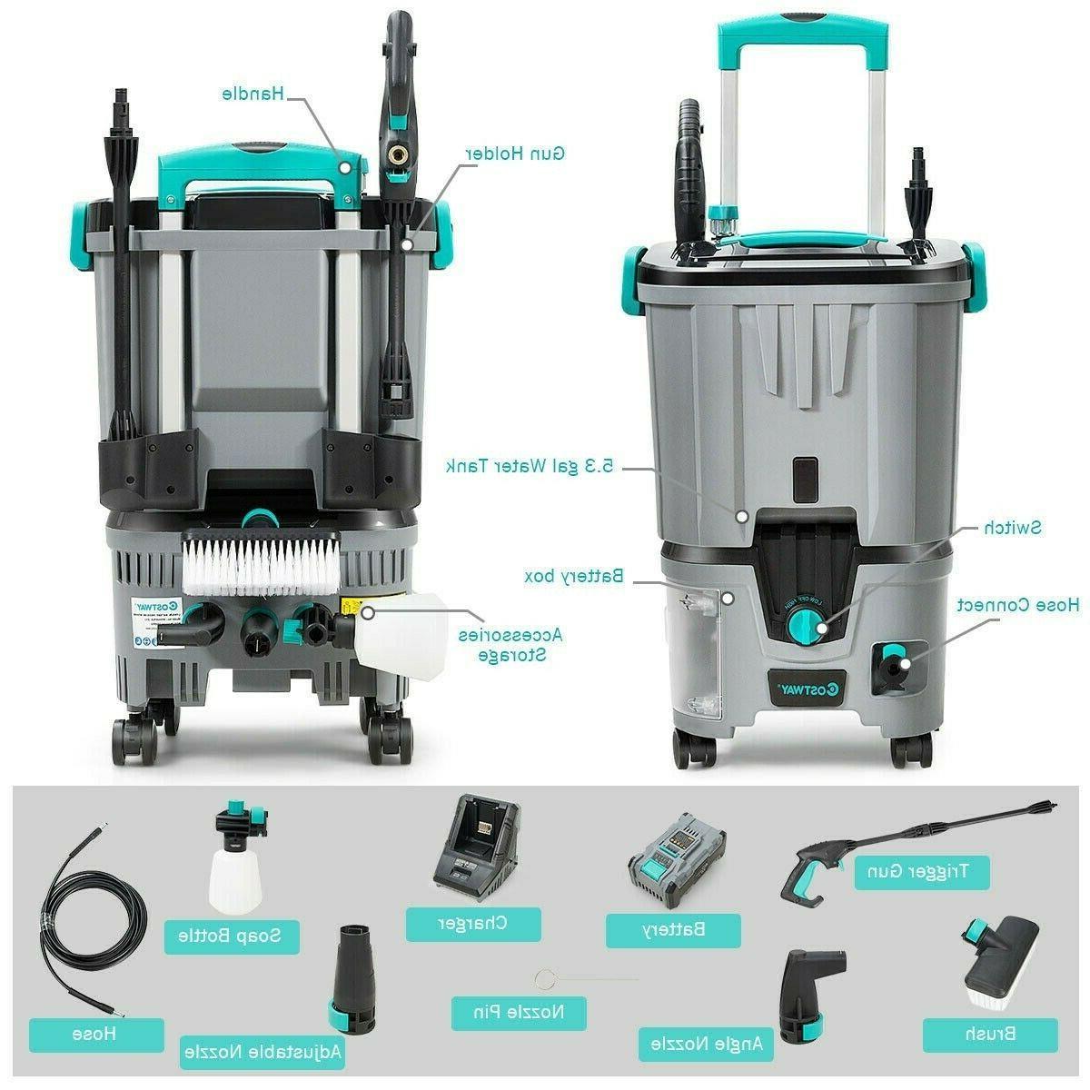 Cordless Pressure 1160 Water Tank