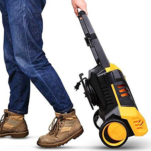 DEKOPRO 1.7 GPM Electric Pressure Cleaner Nozzle,1800W Temperature