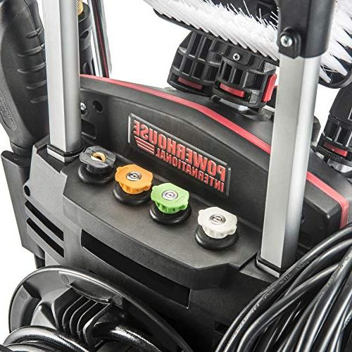 Powerhouse International High Power- Pressure - GPM Power Washer - Patio - Hose Reel Gun