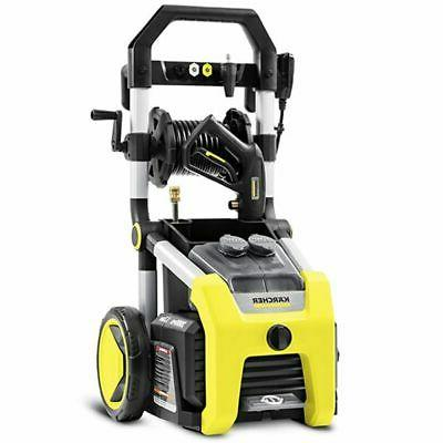 Karcher 2000 PSI  Pressure Washer w/ Hose Reel & Turbo...
