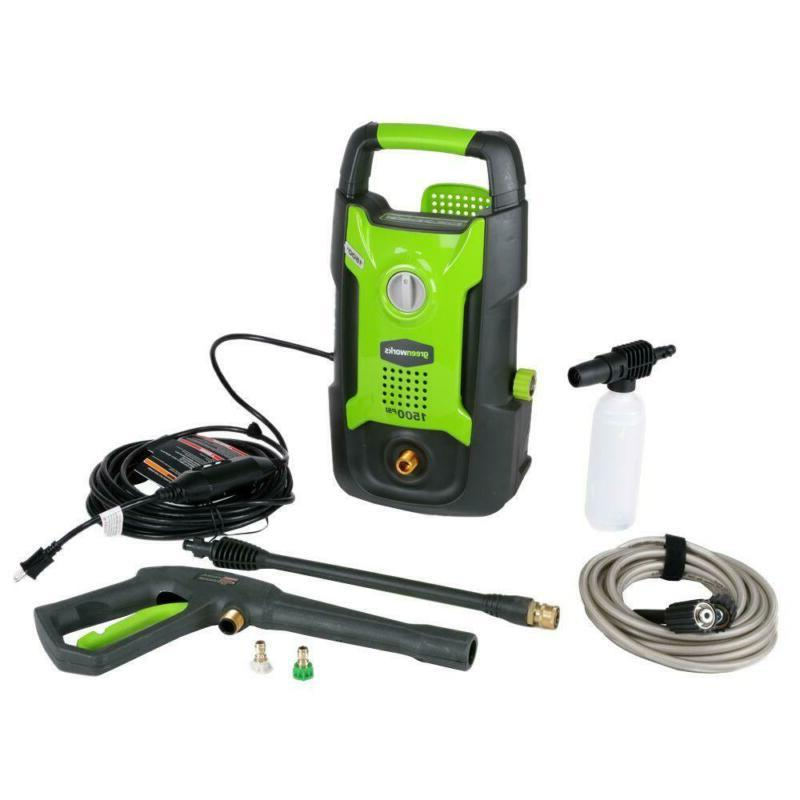 electric power washer with nozzle tips 1