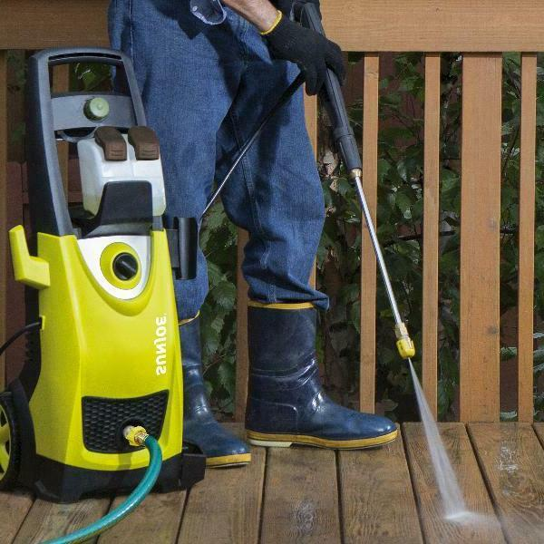 Electric High Washer 2030PSI For Homes Cars Boats Driveways Decks