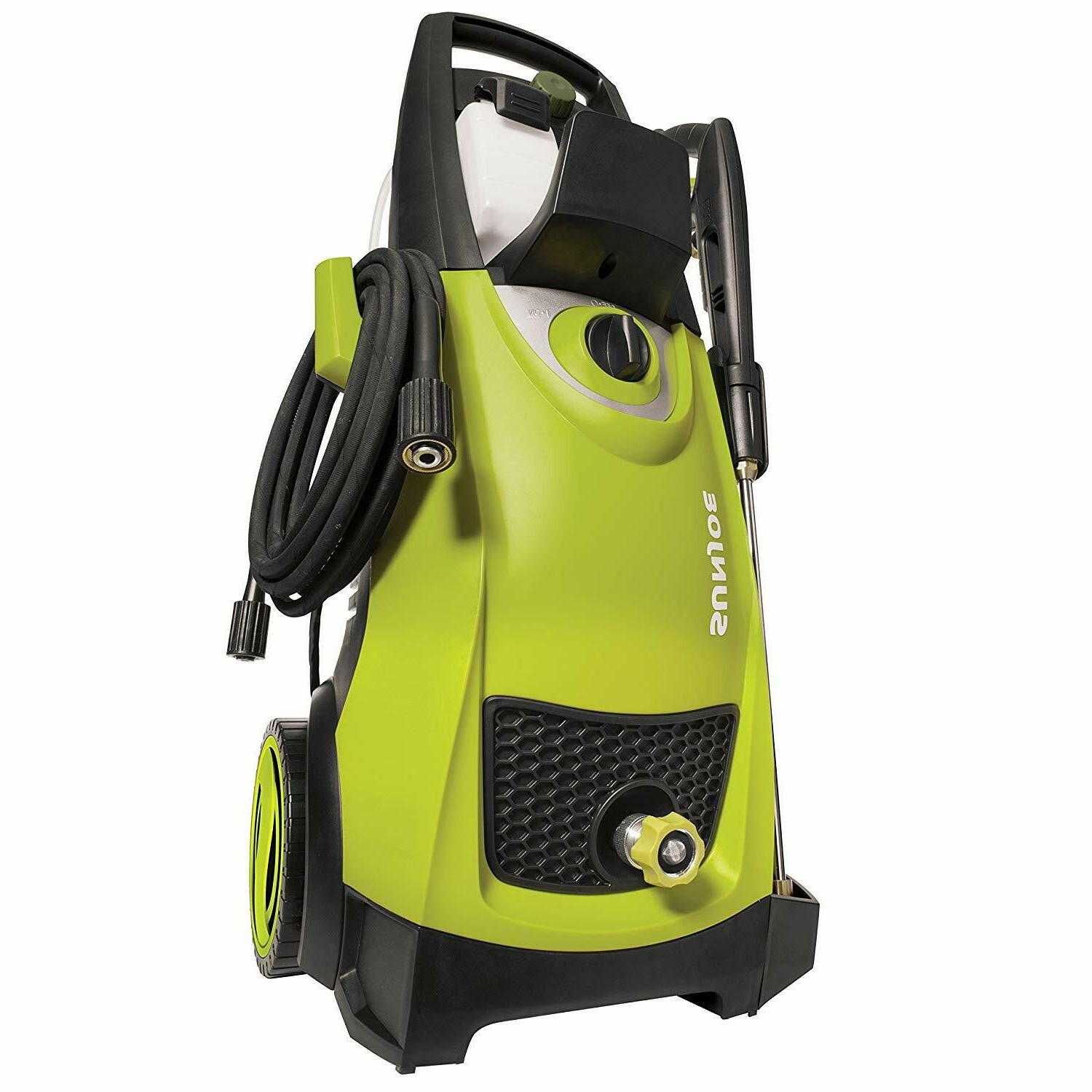 Sun Joe Pressure Washer PSI 1.76 GPM 14.5-Amp With NEW