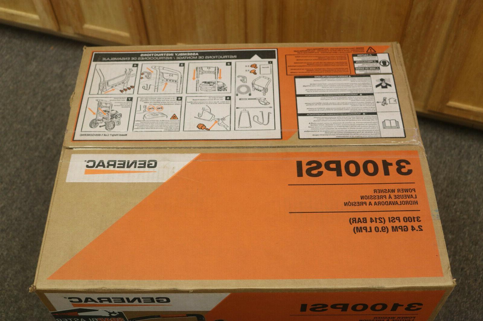 Generac G0079010 3100 Gas Pressure Washer *NEW*
