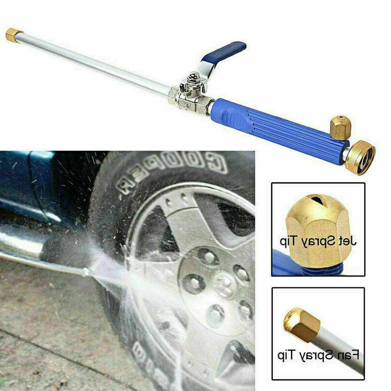 Hydro Pressure Power Water Spray Nozzle Car Cleaning