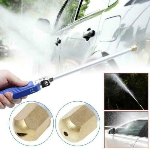 Garden Power Washer Water Spray Gun Wand deck Car