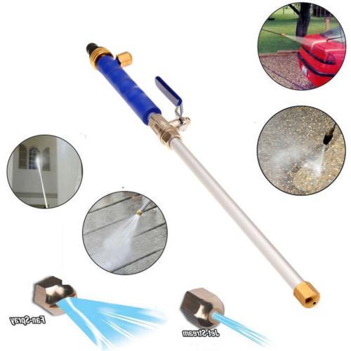 garden hose high pressure spray wand attachment