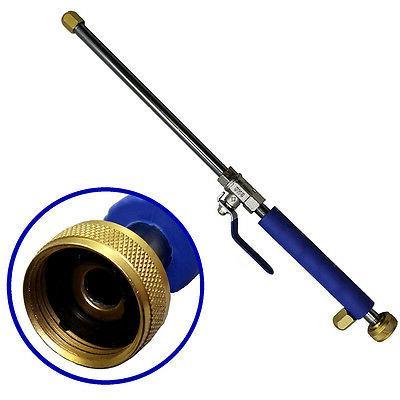 Power Washer Garden Hose Water Spray Gun Nozzle Wand Attachm
