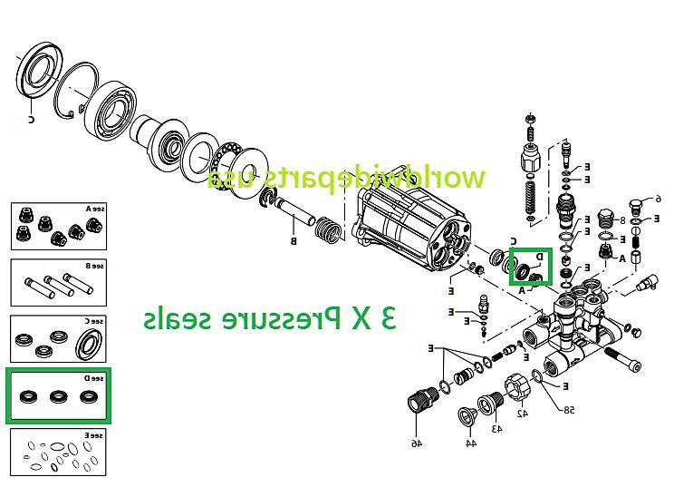 GENERAC Pump 006020R1 006020R3