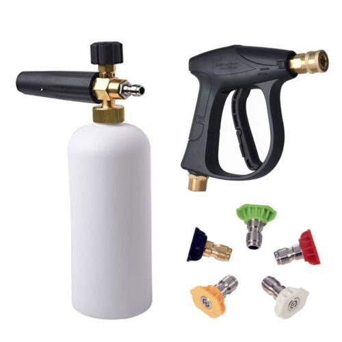 high pressure 1l snow foam bottle power
