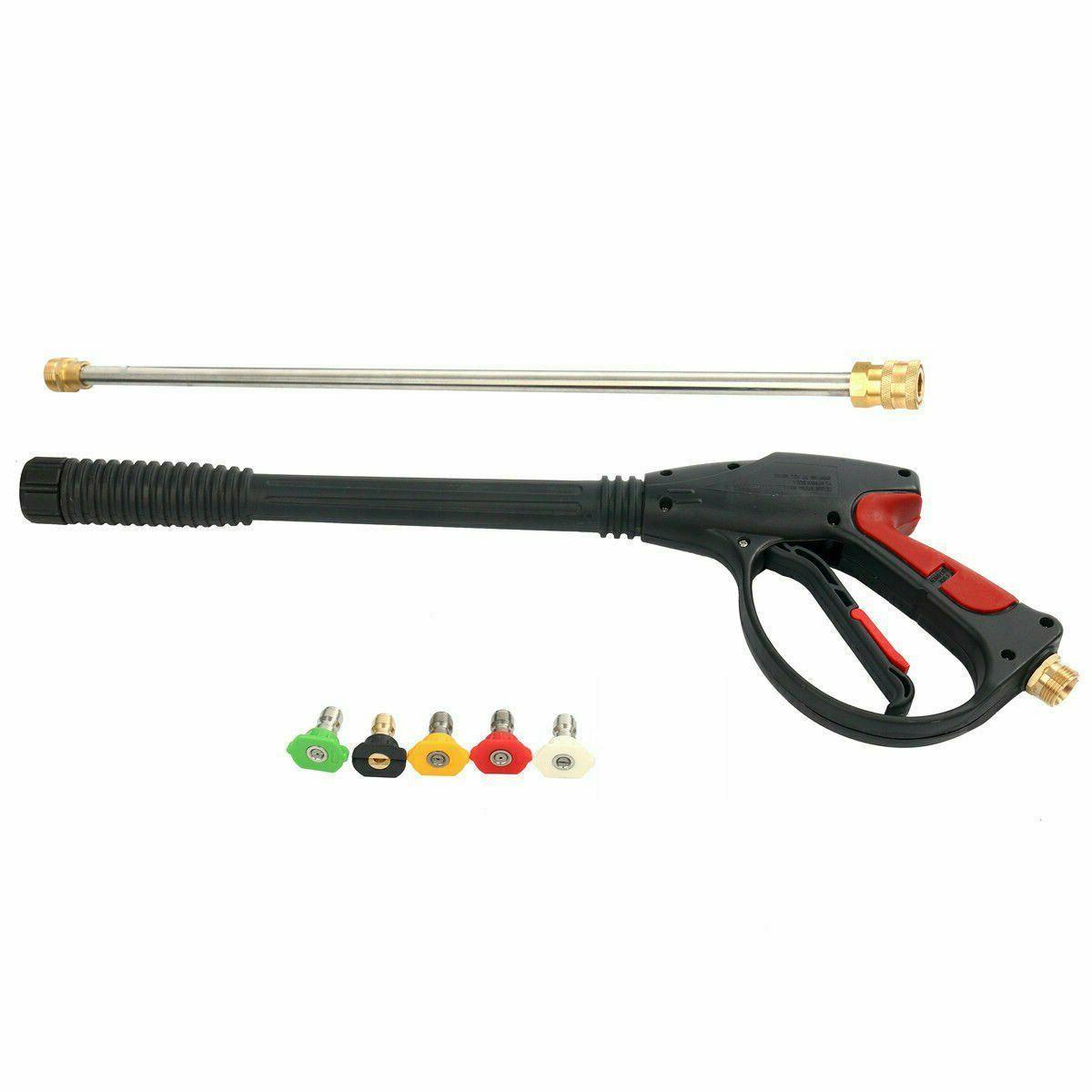 High Car Power Wand/Lance Nozzle Tips Kit