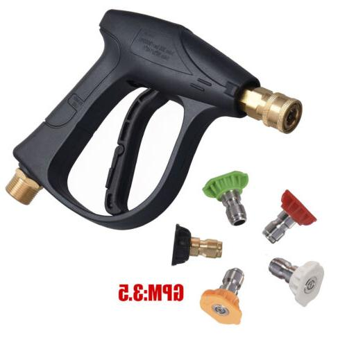 High Pressure Washer Spray Gun Lance Snow Foam Bottle