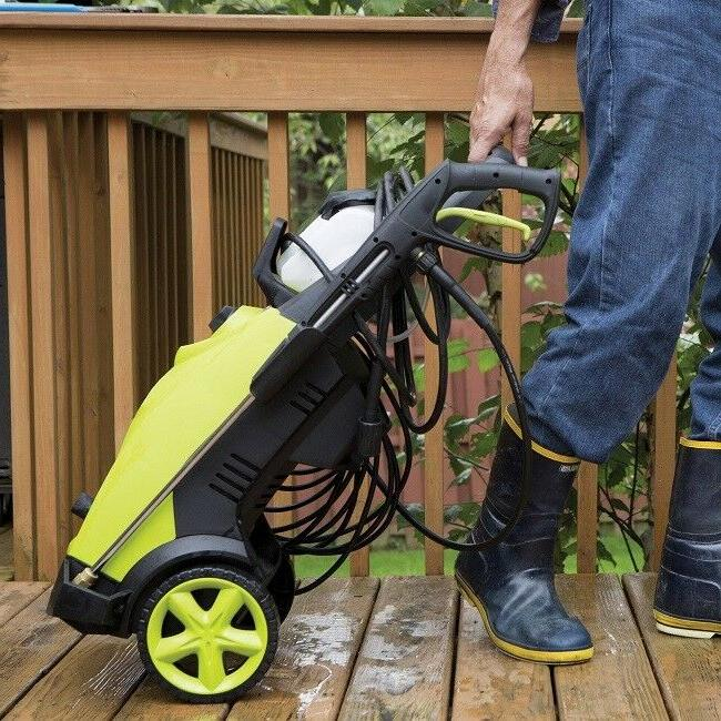 High Power Electric Car Deck Pressure Washers Joe