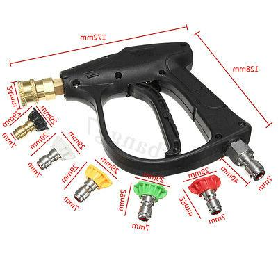 High Adapter 3000PSI Water +5PCS Nozzle 3/8''