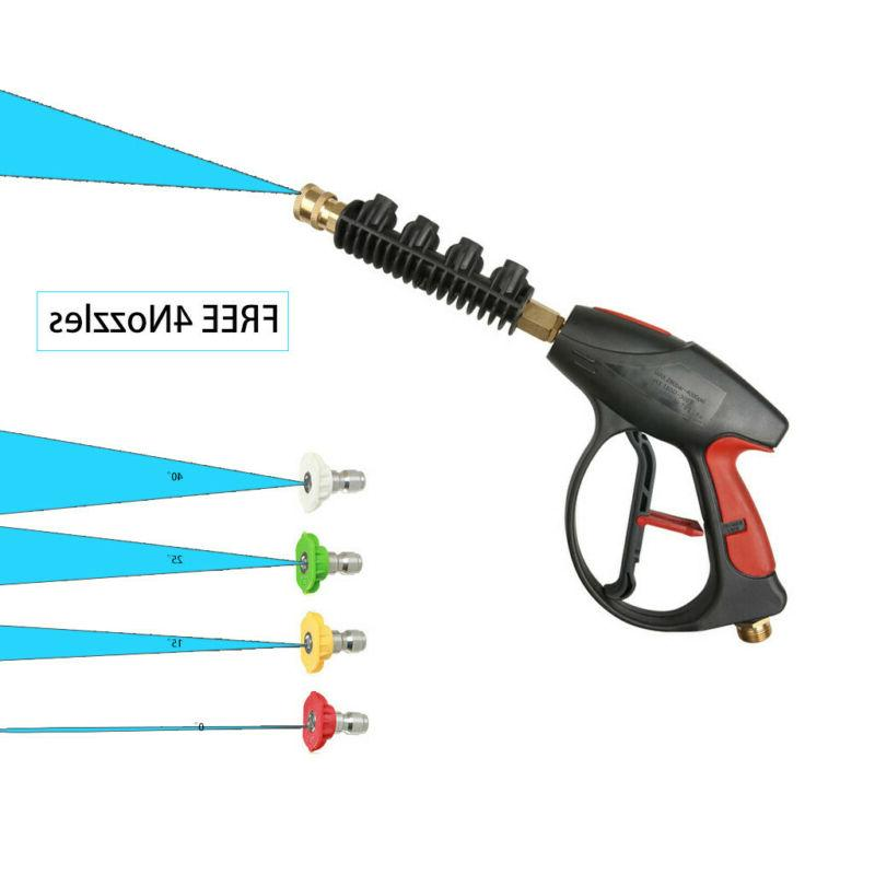New Pressure Power Washer 4-Color Tips US Stock