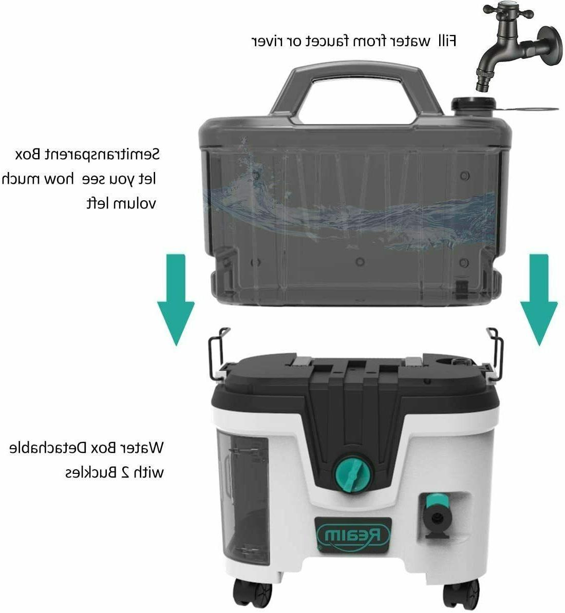 Lithium Battery Cordless Washer w/Battery ion 4.0Ah 1200PSI 1.5GPM