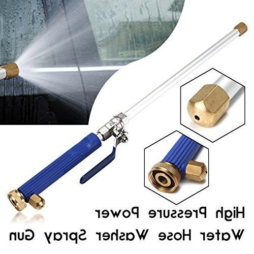 CAVEEN Jet Magic High Power Washer Wand Hose Nozzle Car Washing Window Pressure Spray Wand