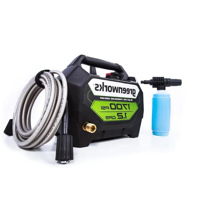 NEW Greenworks 1700-PSI 1.2-GPM Cold Electric Pressure Washer