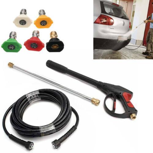 3000PSI High Pressure Car Power Washer KIT Set Hose + Spray